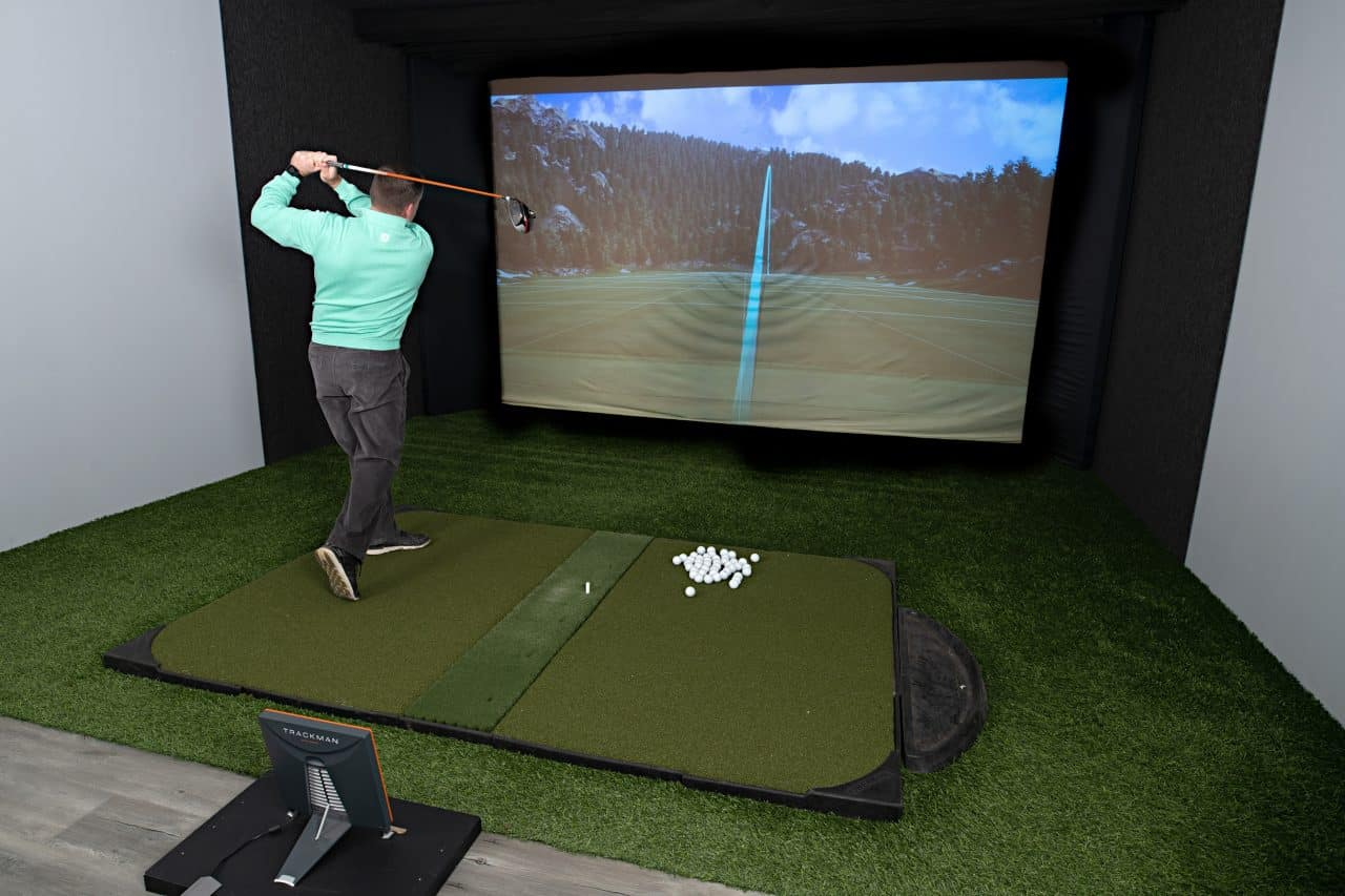 Trackman technology capture of the swing